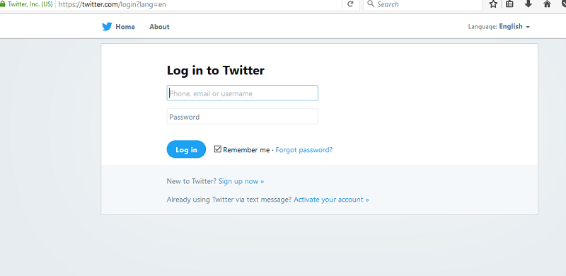 twitter login twitter sign in